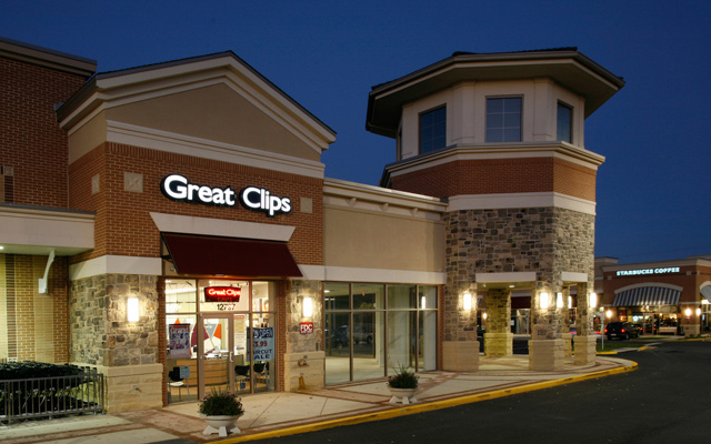 Texas Great Clips Salon exterior front