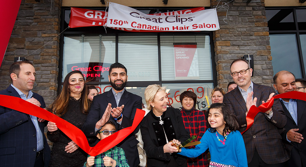 150th Canadian Great Clips Salon
