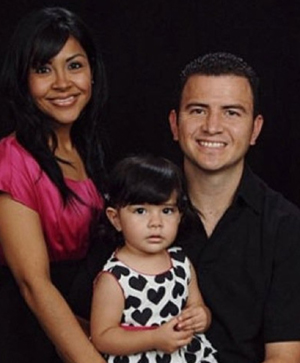 Liliana Cuevas and family